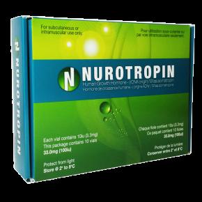 HGH Nurotropin - Growth Hormone 100IU